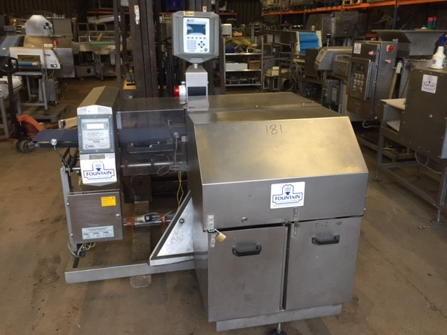 Ward Bekker Ciea Metal Detector Check Weigher