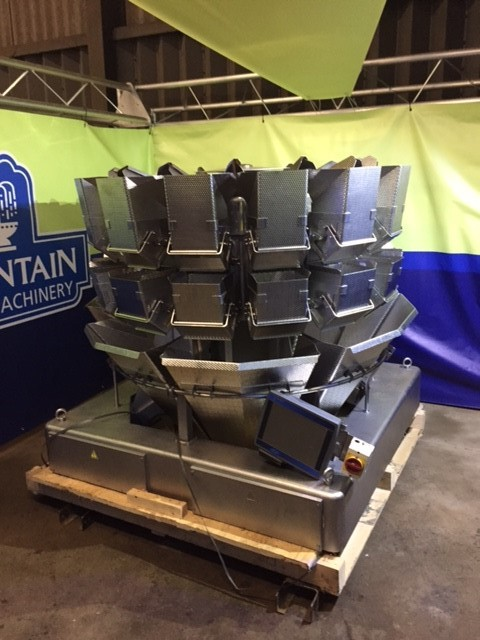 Large 14 Head Ishida Weigher