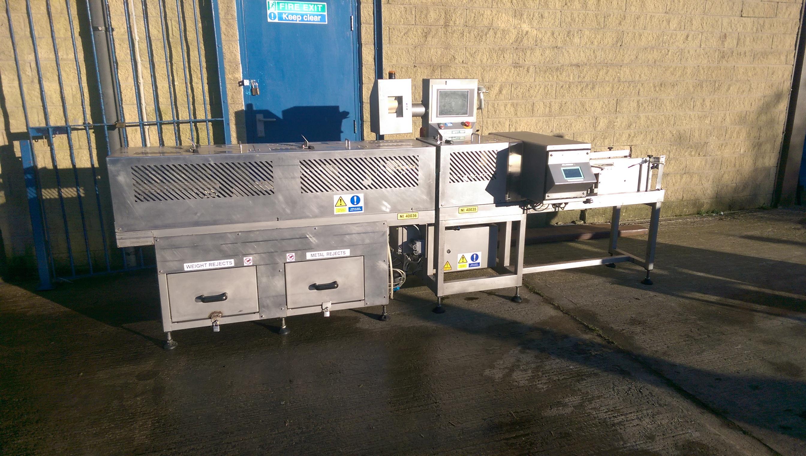 Cintex Metal Detector Check Weigher