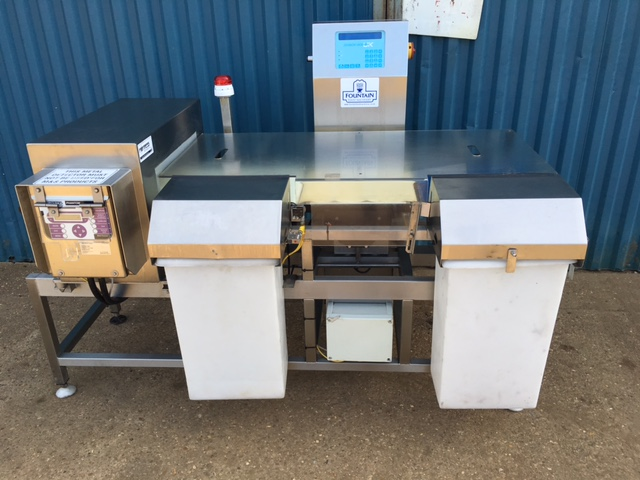 Metal Detector Check Weigher Combination