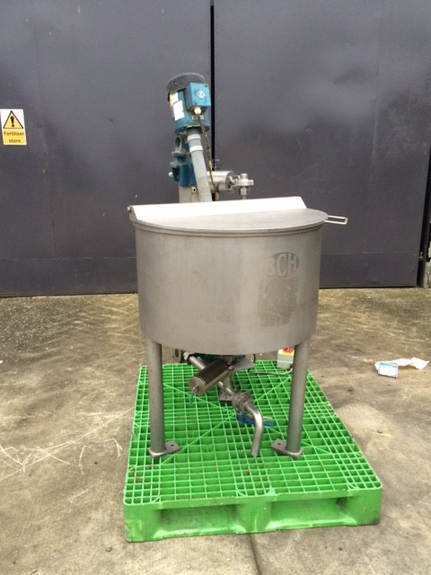 BCH Holding Tank With Shear Mixer