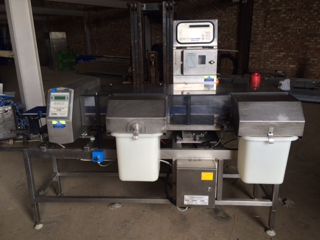 Metal Detector Check Weigher