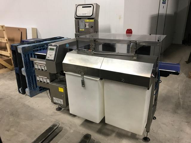 Metal Detector Check Weigher Combination