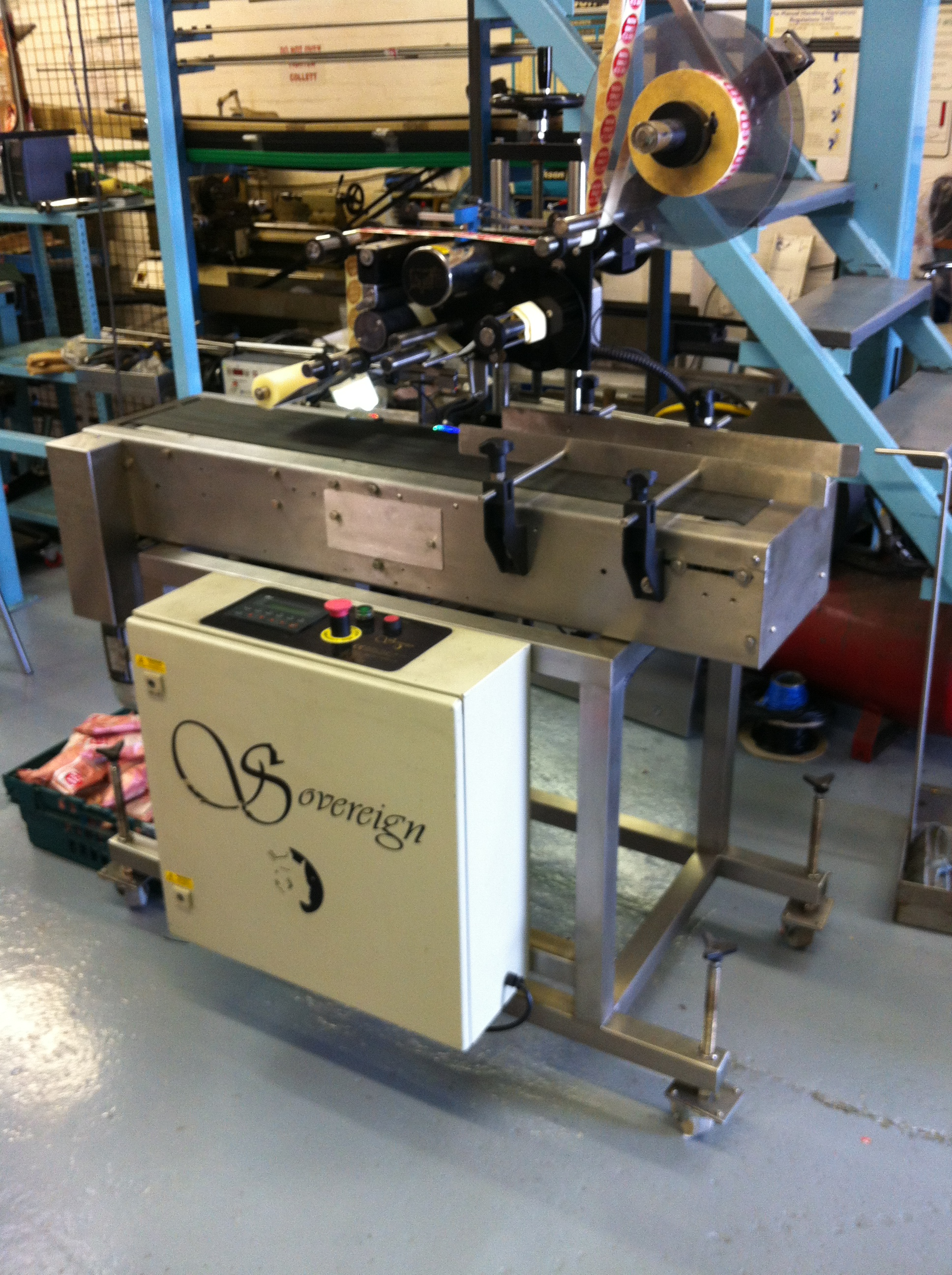 Sovereign 140 Labelling Machine